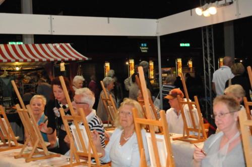 Schildersles met olieverf in Utrecht via Omroep Max
